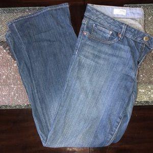 Gap Curvy Boot Cut / ankle length jeans